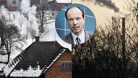 Ekolog Daniel Vondrouš pro Blesk.cz okomentoval smogovou situaci i debaty kolem kontrol kotlů.