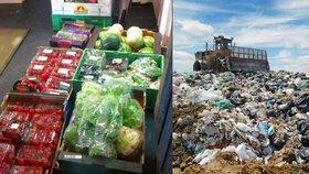 EU pracuje na balíčku o odpadech: Chce mj. efektivněji zamezit plýtvání s jídlem.