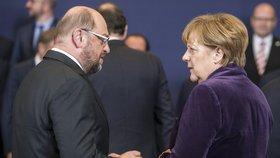 """Vyzyvatel Merkelové: Martin Schulz, bývalý šéf europarlamentu, má ve volbách """"zavařit"""" německé kancléřce."""