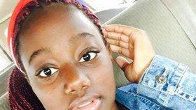 Školačka Nakia Venant (†14) spáchala sebevraždu v přímém přenosu na Facebooku.