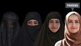 Muslimský šátek hidžáb