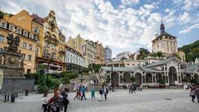 Karlovy Vary vlastní z poloviny bývalí občané SSSR.