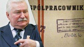 Bývalý polský prezident Lech Walesa spolupracoval s tajnou komunistickou policií