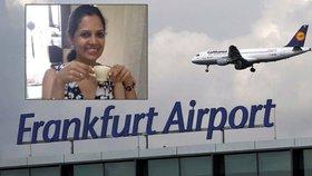 Frankfurtské letiště ženu vyzvalo, aby prokázala, že kojí.