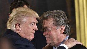 Steve Bannon a Donald Trump