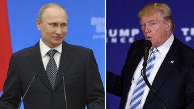Vladimir Putin má zájem o schůzku s Donaldem Trumpem.