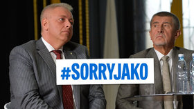 "Chovanec chce kvůli útokům na policii po Andreji Babišovi omluvu. Prý mu postačí ""sorry jako""."