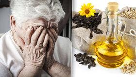 Rostlinné oleje způsobují demenci a Alzheimerovu chorobu. Tvrdí to vědecká studie.