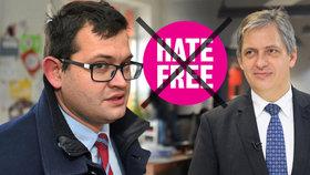 Ministr Chvojka chce zrušit projekt HateFree, který se rozjel za jeho předchůdce Dienstbiera.