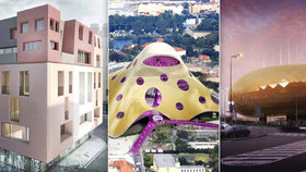 Pamatujete si architektonické návrhy, které zatím nebyly zrealizovány a rozdělily společnost?