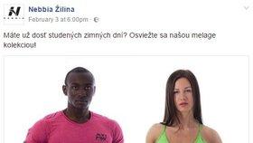 Debaty o rasismu se objevily i u slovenské reklamy.