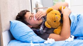 Nemoc trvá čtyři až osm týdnů.
