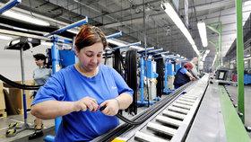 V Česku chybí desítky tisíc pracovníků a firmy je nemohou sehnat. Chybí třeba lidé ve výrobě. (Ilustrační foto)