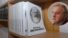Miloslav Ransdorf má od středy v centru Prahy svou vlastní veřejnou knihovnu.