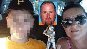 Michael Cole Whidden zastřelil násilnického přítele své matky. Budou ho soudit za vraždu.