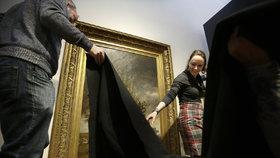 The Davis Museum v Massachusetts odstranilo nebo zakrylo všechny exponáty, které vytvořili imigranti.