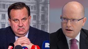 Premiér Bohuslav Sobotka (ČSSD) detailněji promluvil o tom, proč končí ministr Mládek.