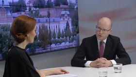 Bohuslav Sobotka v Ptám se, pane premiére