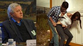 Sexuolog Jaroslav Zvěřina o problematice znásilnění: Oběti si jej někdy kladou za vinu (vpravo ilustrační foto).