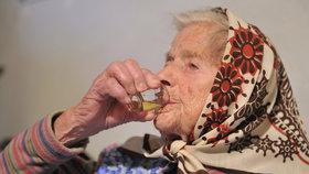 Ještě v zimě byla nejstarší Češkou 108letá Marie Matoušková. Bohužel v únoru zemřela.
