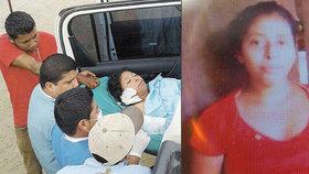 Věřící upálili mladou ženu.