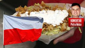 Evropu spasí před islamizací pravý polský kebab. Kdy přijde pravý český humus?