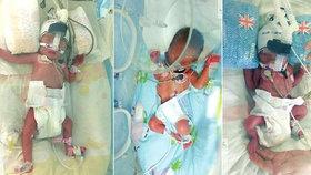 Matce v Číně se nejdřív narodil chlapec. A šest dní poté dvě holčičky.