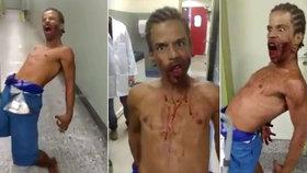 Posedlý muž byl natočen v Brazílii.