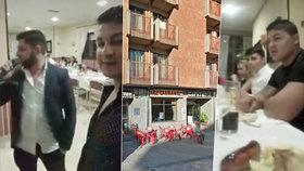 Gang vyjídačů restaurací ve Španělsku stále uniká: Projedli už 54 tisíc korun.