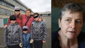 Paní Lenka se musí postarat o čtyři děti a invalidního manžela.