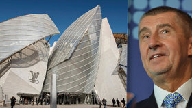 Andrej Babiš by rád v Česku supermoderní muzeum – po vzoru Nadace Louise Vuittona v Paříži.
