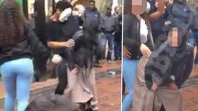 Muslimka si za twerkování na ulici vysloužila výhrůžky smrtí.