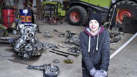 Vrak německé stíhačky i s ostatky pilota objevili na severu Dánska místní farmář s 14letým synem.