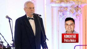 Prezident Miloš Zeman oznámil další kandidaturu. Jak to vidí komentátor Petr Holec?