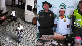 David Andrés Flórez Acosta kradl, obětovával a jedl kočky.