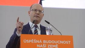 V Brně se koná 39. sjezd ČSSD. Mimo jiné rozhodne o osudu Bohuslava Sobotky jakožto předsedy strany. Na fotografii Bohuslav Sobotka.