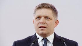 Slovenský premiér Robert Fico na sjezdu ČSSD v Brně