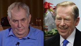 Chce moc, jak měl Václav Havel. Také Miloš Zeman by rád měl coby prezident zákonodárnou moc.