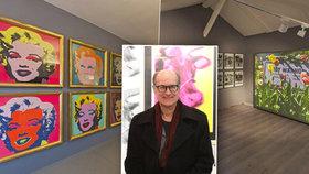 Prahu navštívil synovec Andyho Warhola James, rozpovídal se o fenomenálním umělci.