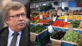 Ceny ovoce, zeleniny i masa možná brzy porostou.