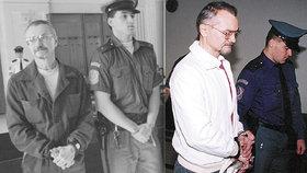 Doživotně odsouzený vrah Michael Kutílek (†66) zemřel ve věznici. Vraždil v den zrušení trestu smrti s parťákem Kottem.