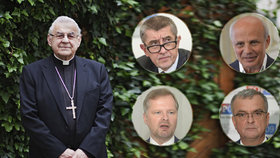 Osobnosti vyjadřují soustrast nad smrtí kardinála Vlka.