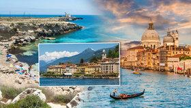 Rádi byste vyrazili do Itálie? Přinášíme vám 5 nej míst!