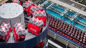 Výroba Coca-Coly v Praze