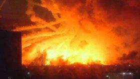 Na Ukrajině explodoval muniční sklad i v březnu 2017.