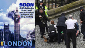 Džihádisté oslavují teroristický útok v Londýně.