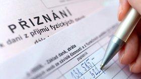 Nezapomeňte podat daňové přiznání včas!