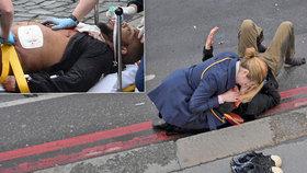 Khalid Masood (vlevo) útočil na Westminsterském mostě. Útoků autem bude přibývat, varují experti.