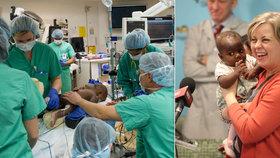 Dominique podstoupila nebezpečnou operaci na oddělení parazitického dvojčete.