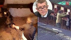 Otřesné záběry z kožešinových farem: Na popud ochránců chce jednat i Andrej Babiš.